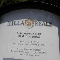 Villa Reale - Toskania