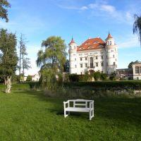 Park w Wojanowie - Dolny Śląsk