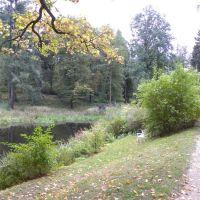 Park w Staniszowie - Dolny Śląsk