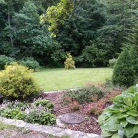 Ogród w dolinie Kluczwody